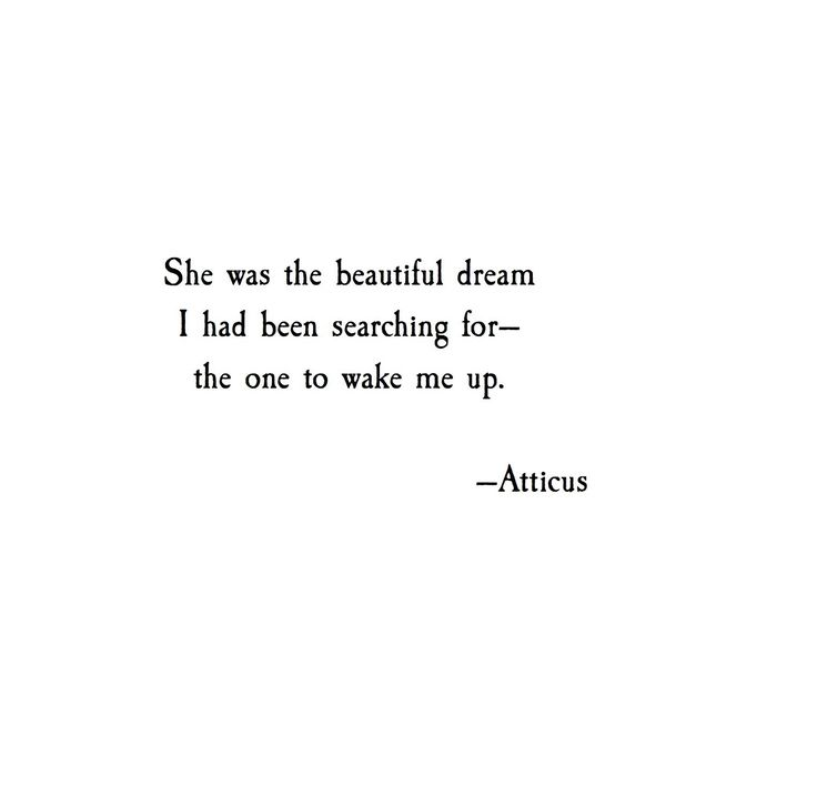 'Beautiful Dream' Atticus