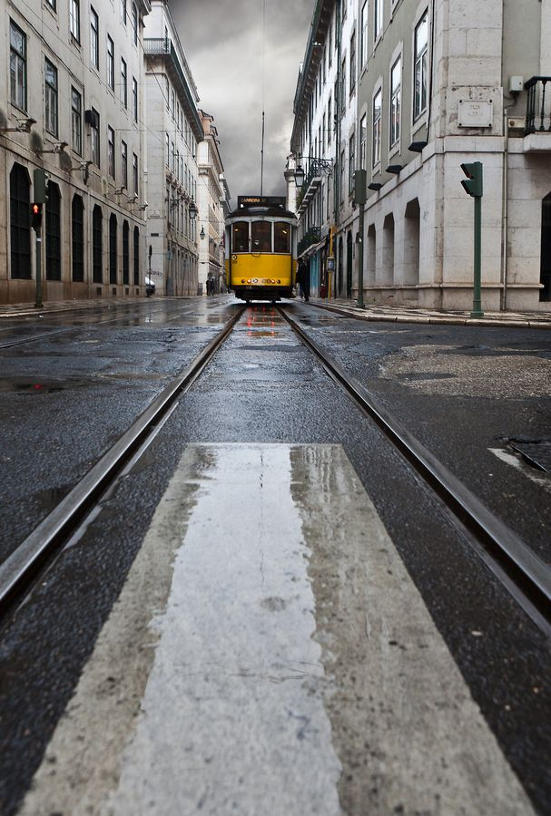 """Lisboa, Lisbon, Portugal  Tram 28 was selected by """"Rough Guide to the World"""" as one of the 1000 most important travel experiences in the world."""
