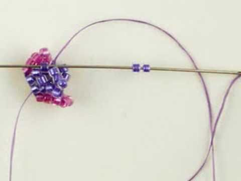Stretch your herringbone stitch skills with my original earring design. I'm sorry to all viewers who are unhappy that there is no text. Please, I would appre...
