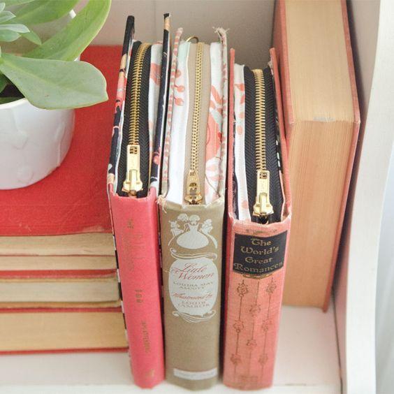 15 Genius Way to Upcycle Vintage Books