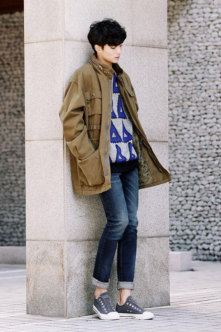 Men's winter fashion #menstyle #mensfashion #koreanfashion