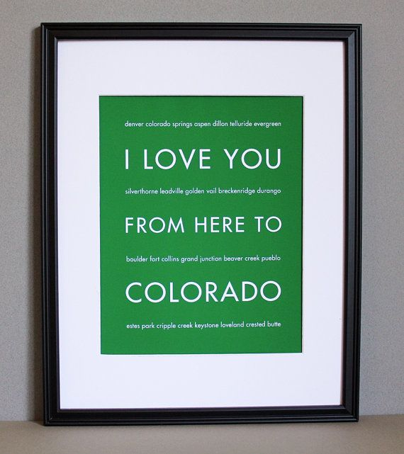 from here to Colorado @Laurel Guidry  reminds me of you!!! ;)