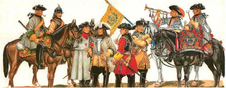 Danish Cavalry Great Northern War