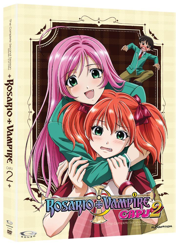 Rosario+Vampire Capu2 (Season 2) DVD Complete Series (Hyb