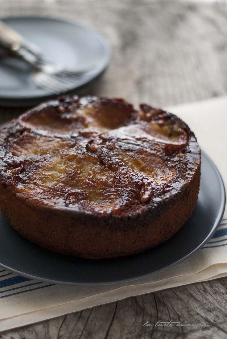 Torta di mele e cardamomo - Gateau au pomme #latartemaison