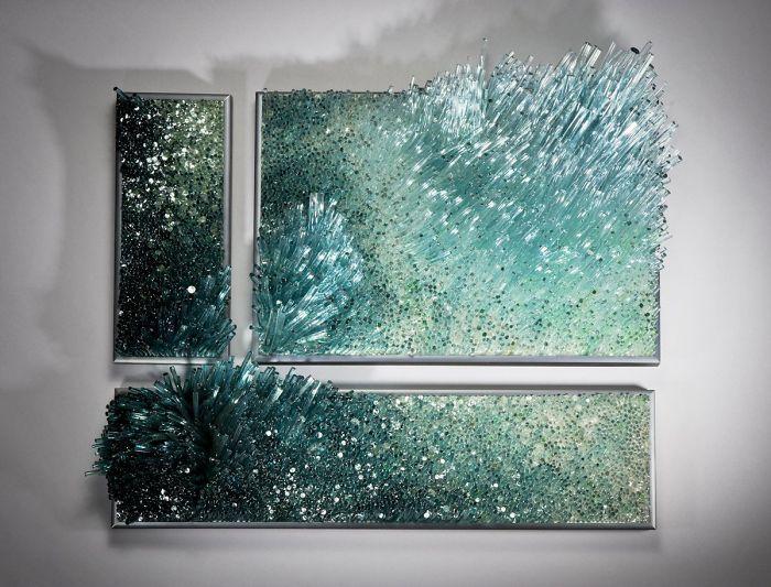 arte con vidrio