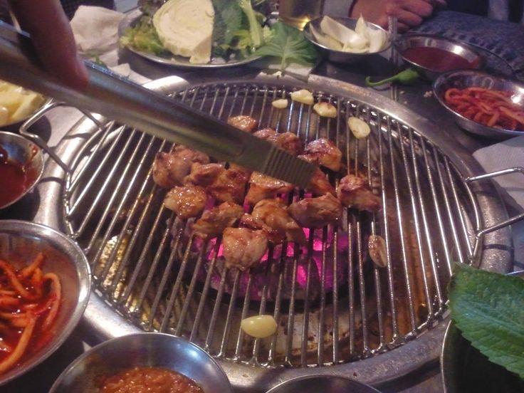 Cibo Coreano da Mangiare in Compagnia.