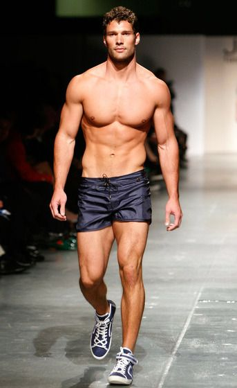 I don't know WHO Aaron O' Connell is but I know THIS much: He apparently is built like a Greek Statue and is probably on of the most put together men in the world!