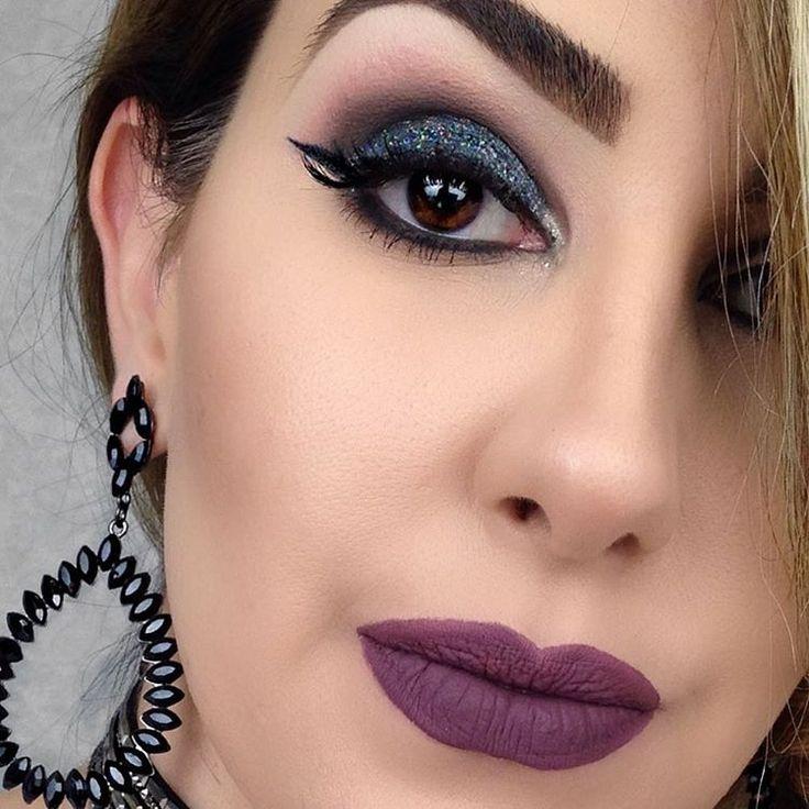 É impossível não ser feliz fazendo o que a gente AMA! 💜 Mais uma make feita com todo meu amor para vocês 💜 Obrigada por serem sempre tão carinhosas, tão fofas, tão maravilhosas, tudo isso junto e misturado! AMO vcs maravilhosas 😍💋 #makeup #maquiagem #blogdaleticia #amomuito