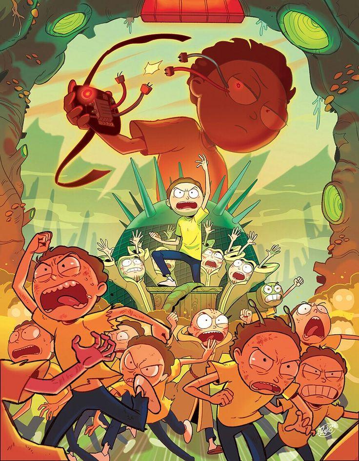Rick's. Esse episódio é muito bom!