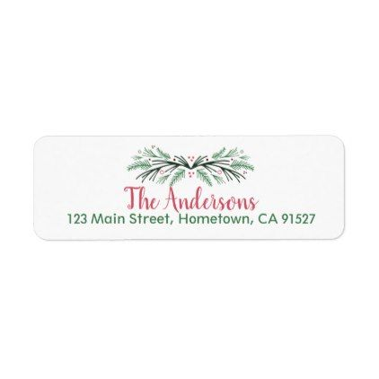The 25+ best Personalized return address labels ideas on Pinterest - sample address label