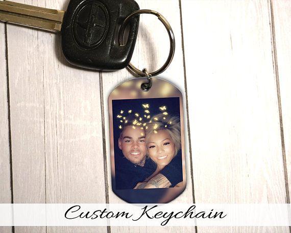 Photo Keychain – Personalized Keyring, FREE SHIPPING, Use any photo, Personalized On Sale, Gift. Key