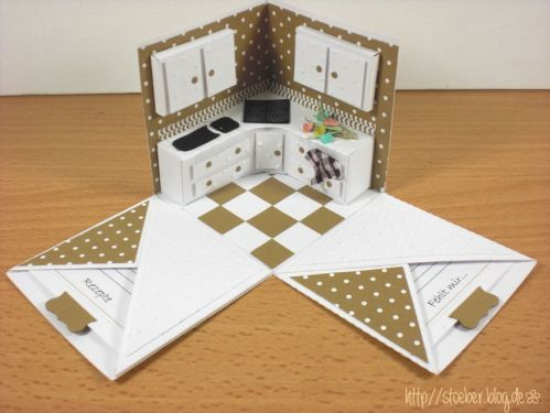 stampin up, cameo silhouette, new kitchen