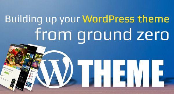 develop wordpress theme