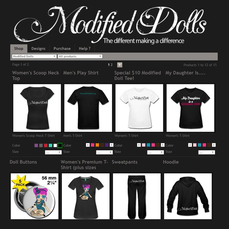 Check out our Spreadshirt #shop, you can order official The Modified Dolls` merch and even personalize many of the items. All sales support our work with #charities. http://tmdshop.spreadshirt.com/ #ModifiedDolls #ModifiedWomen #NonProfit #Spreadshirt #merch