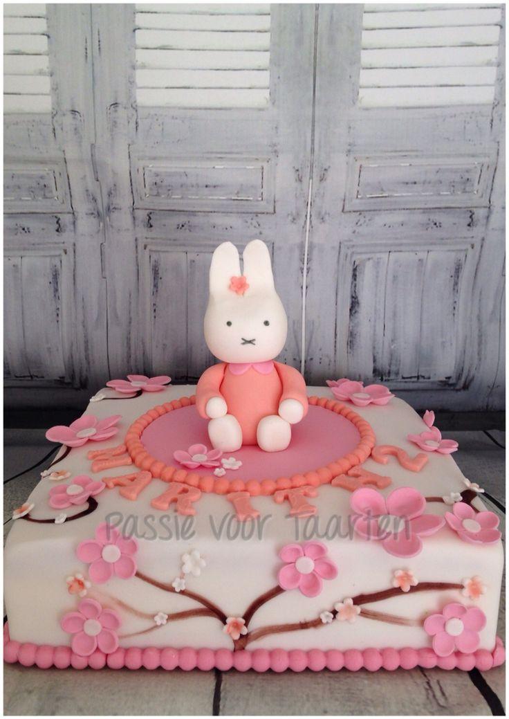 Miffy cake by Passie voor Taarten