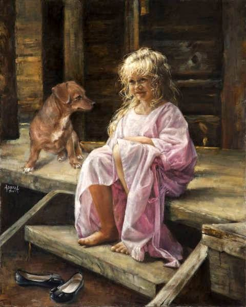 """Morning In The Village"" -- Alina Sibera (Polish)"
