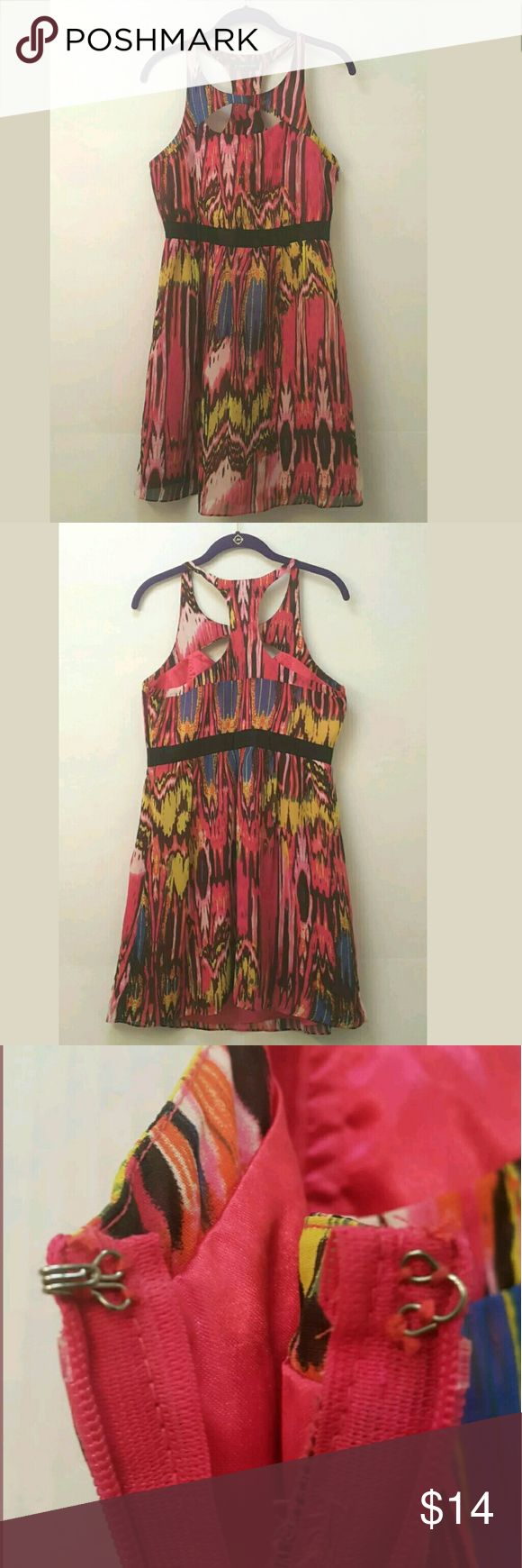 Rampage Multi Color Dress (All Offers Welcomed) Rampage Multi Color Dress Size Large Please see pictures. Any questions, please ask me. I welcome all offers. I will give you a price that works for you. Thanks for stopping by!!!!!!!! Rampage Dresses Mini
