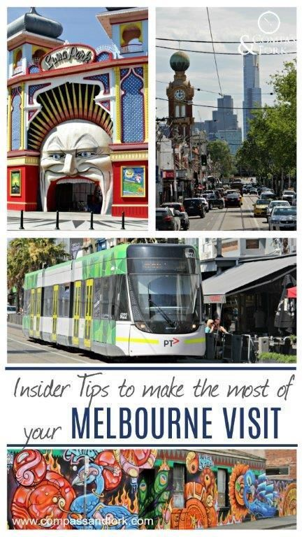 Insider tips to make the most of your Melbourne Australia A guide to the local neighborhoods. What to do and where to stay Visit www.compassandfork.com