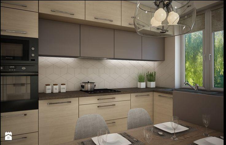 Mieszkanie Bacieczki - Kuchnia, styl nowoczesny - zdjęcie od Anna Wrona