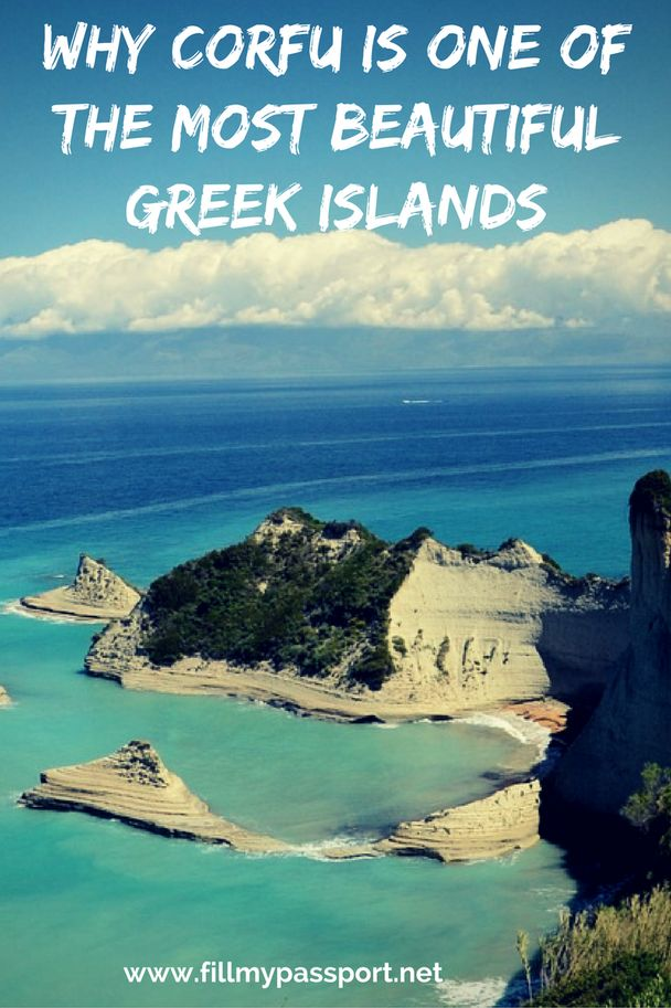 Why Corfu is one of the most Beautiful Greek Islands