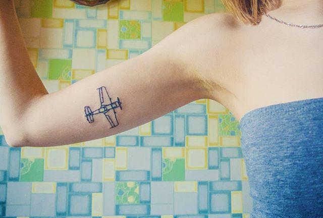 Best 25 plane tattoo ideas on pinterest airplane tattoo for Jet life tattoo