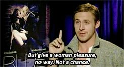 Why Is It OK To Show Women Being Tortured On Screen, But Not Doing THIS?  // Ryan Gosling on Blue Valentine's rating