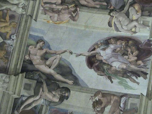 Michael Angelo Painting