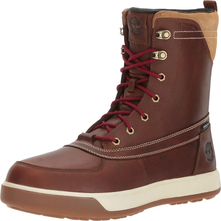Timberland Men's Tenmile Waterproof Boot,Wheat TBL Forty Full Grain Leather,US 7