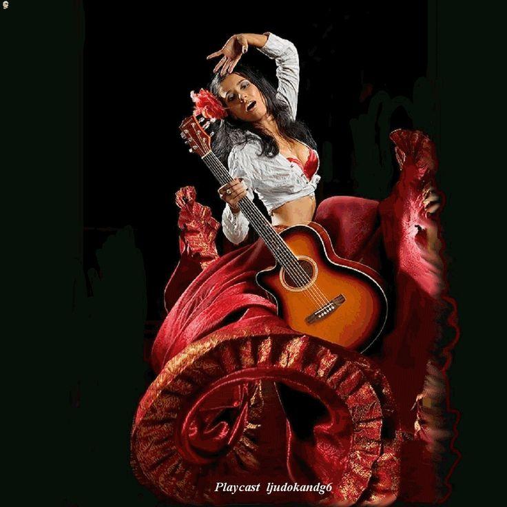 Цыганский танец картинки и анимация