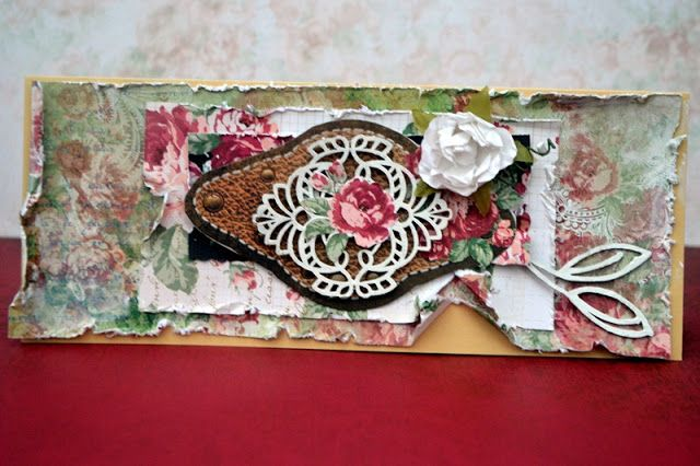LOVE LACE card by Agnieszka Bellaidea http://bellaideascrapology.blogspot.com/2015/11/love-lace-card.html