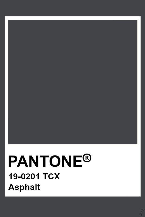 Pantone Asphalt Conservatory Dark Grey Color Schemes Pavement R