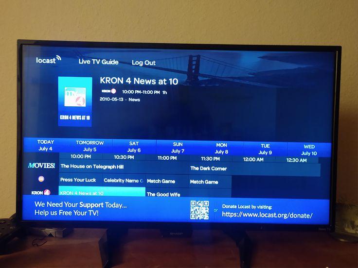 Locast on my att u verse box odd Tv providers, Live tv