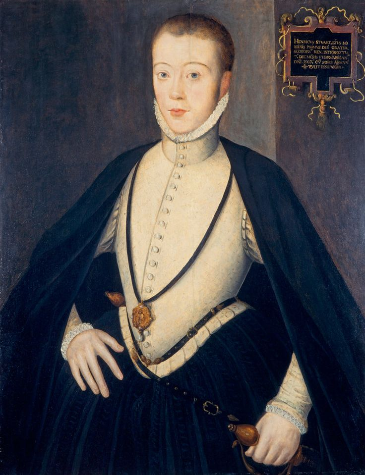 c.1564,Henry Stuart,Lord Darnley-Henry Stuart,king consort of Scotland,(7.12. 1545- 10.02.1567),styled Lord Darnley until 1565,was king consort of Scotland from 1565 until his murder at Kirk o' Field in 1567.Many contemporary narratives describing his life and death refer to him as Lord Darnley,his title as heir apparent to the Earldom of Lennox, and it is by this appellation that he is now generally known.