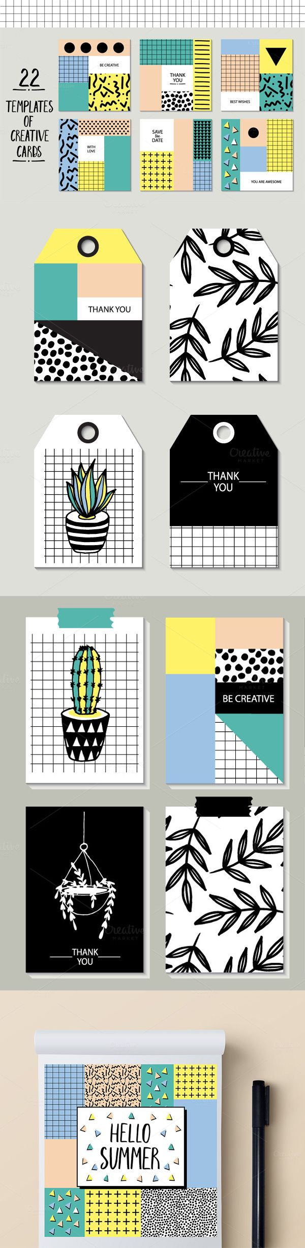 Sticker graphic design software - 22 Templates Of Creative Cards 80s