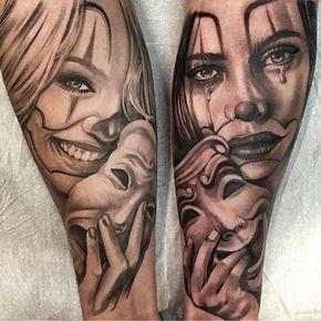 """959 Gostos, 15 Comentários - INK-EEZE (@inkeeze) no Instagram: """"More sick black & grey work from @mackotattoo! #inkeeze #tattoo #smilenowcrylater"""""""