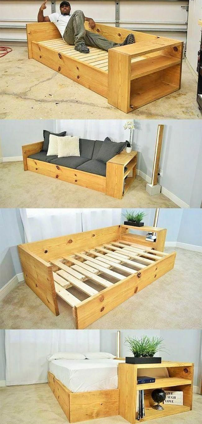 Diy Make Sofas Benches And Chairs From Wooden Pallet Diyfurnitureideas In 2020 Diy Sofa Bed Diy Sofa Home Diy