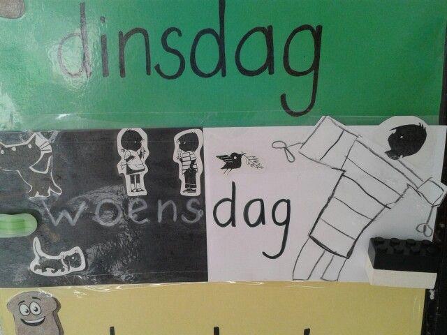 Jip en Janneke dag....alle kinderen mogen in zwart/witte kleding komen.