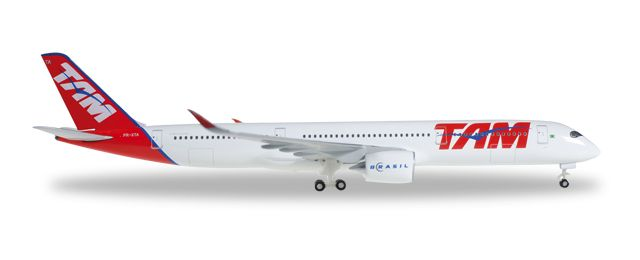 1/500 Herpa TAM Airlines Airbus A350xwb