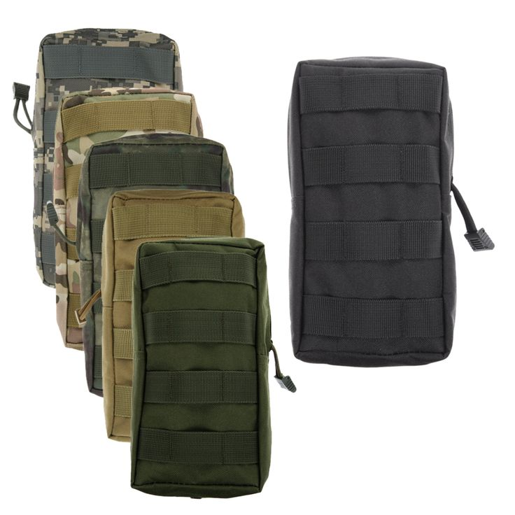 cool Airsoft Military 600D MOLLE Utility Vest Waist Pouch Bag Men Military Waist Bag Vest Waist Pouch Bag For male high quality