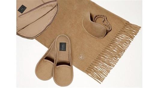 Max Mara cashmere travel set
