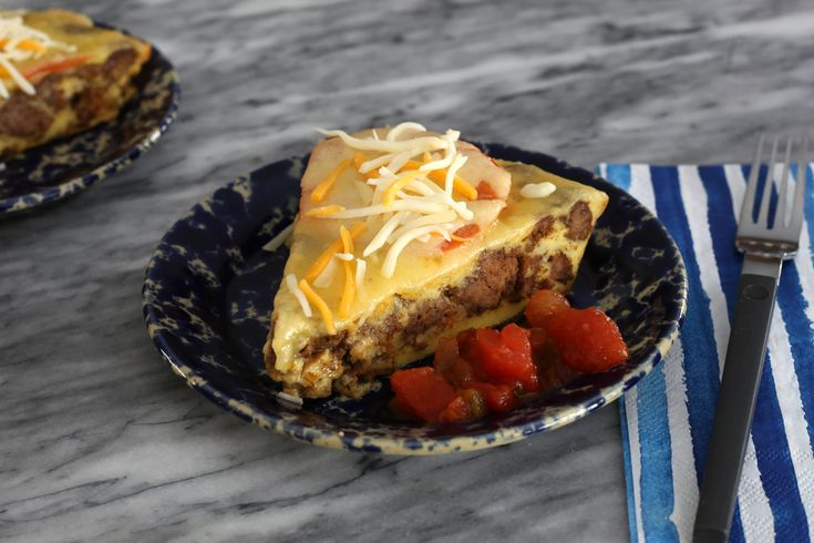 Impossible Taco Pie Recipe With Ground Beef