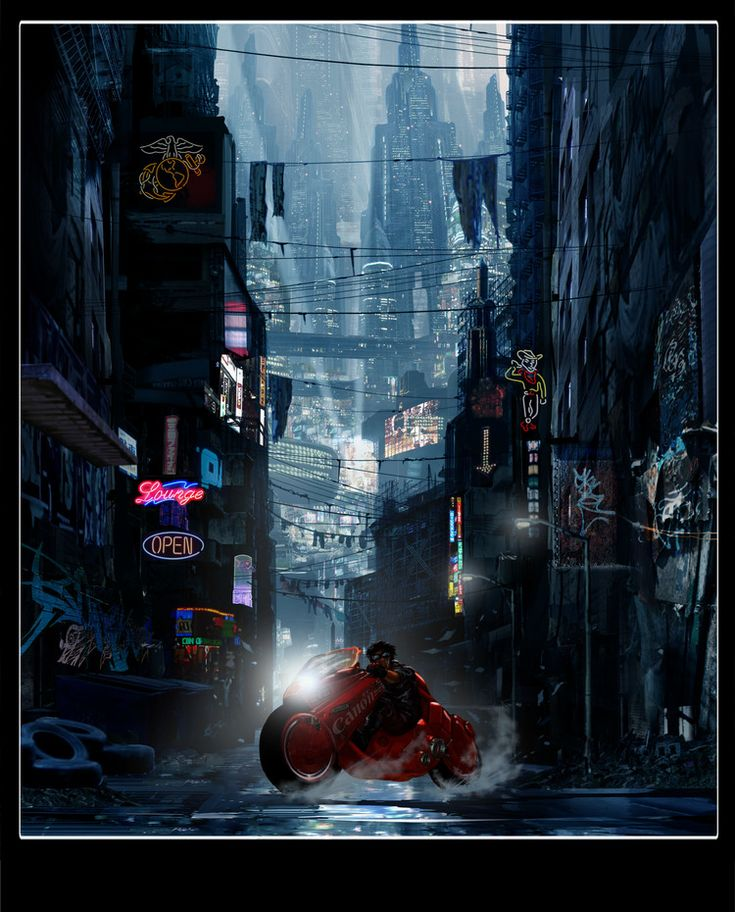 Awesome Concept Art from Cancelled Live-Action AKIRA Film — GeekTyrant