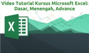 Belajar Microsoft Excel: 100% Video Tutorial Lengkap