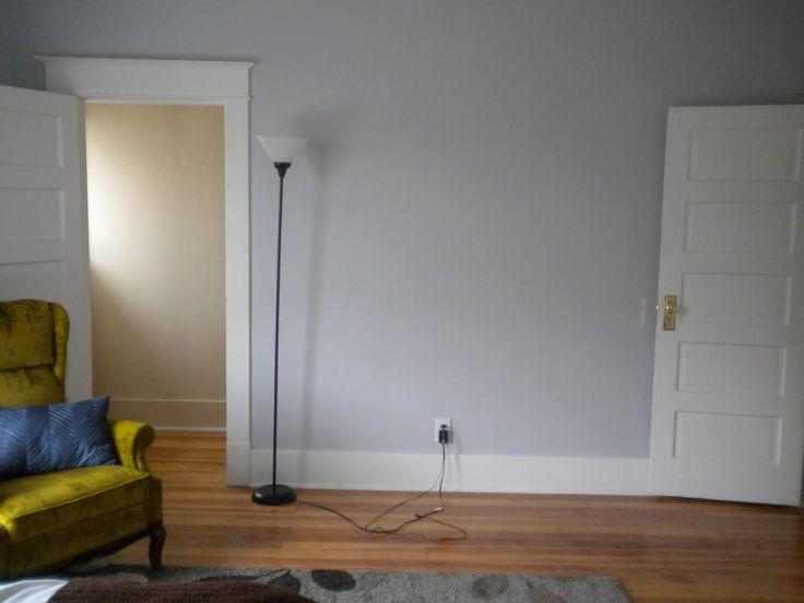Manhattan mist behr paint baby on board pinterest manhattan house and yellow gray bedroom
