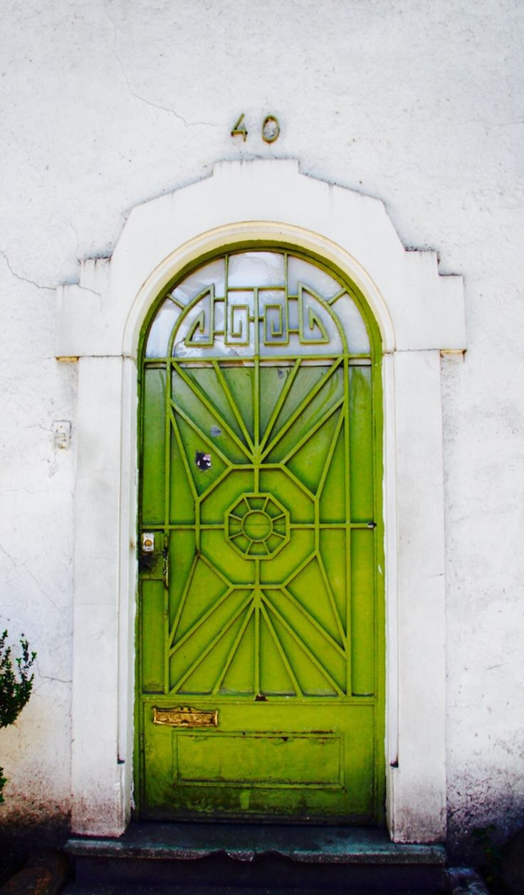 """green door. Mexico City, Mexico // I was reminded of the song: """"(The) Green Door"""" is a 1956 popular song with music composed by Bob Davie and lyrics written by Marvin Moore. The lyrics describe the allure of a mysterious private club with a green door, behind which """"a happy crowd"""" play piano, smoke and """"laugh a lot"""", and inside which the singer is not allowed."""