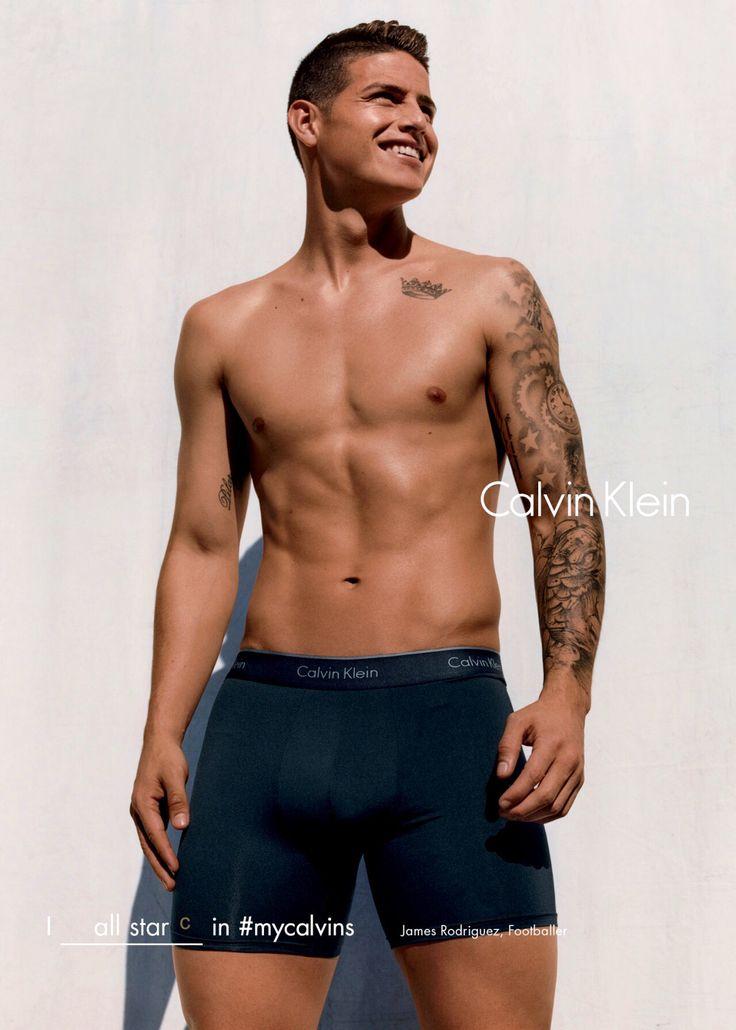 James Rodriguez for Calvin Klein July 2016