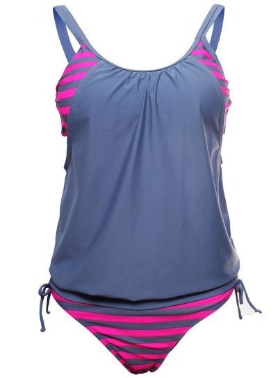 The tankini top offers modest coverage all while having the support and comfort of a sport bra. Designed in a flattering silhouette. And matching bottoms offer modest seat coverage for maximum comfort and support during your outdoor water activities. This tankini swimsuit is sure to make a statement again this season! More surprise, plz check www.azbro.com