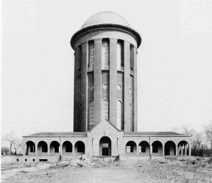 Hans Heinrich Müller   Torre del Agua Steglitz   Steglitzer Wasserturm   Berlín, Alemania   1915-1919   restauración del año 2000 por Architekurbüro Bozina