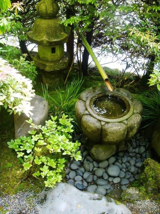29 best bamboo water fountains images on pinterest for Zen garden waterfall